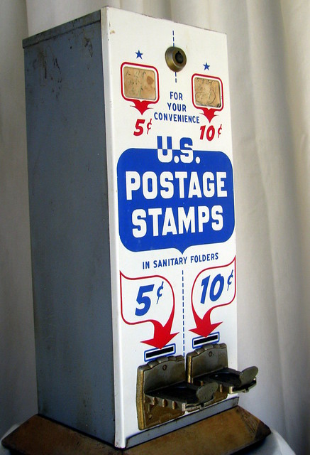 Old Stamp Dispenser