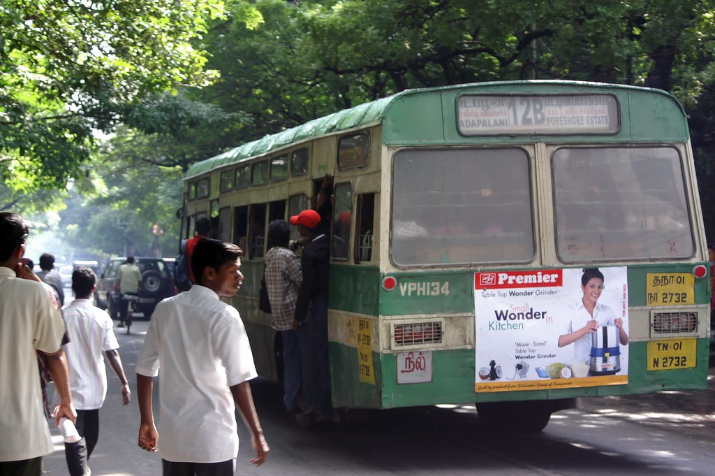 Image result for chennai city bus 12b