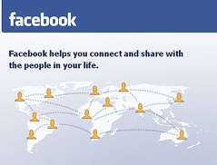 Home Page do Facebook
