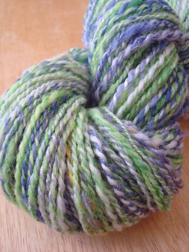 I plied this guy on my Kundert spindle.