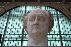 Johann Wolfgang von Goethe by David d'Angers (1788-1856). Muse d'Orsay. PARIS. (Rosa Klein) Tags: paris parigi pariz