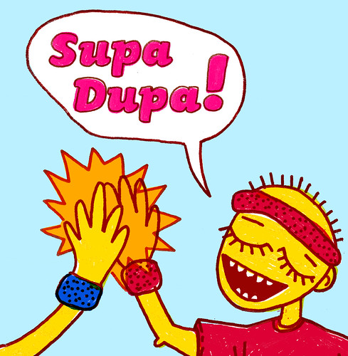 Supa Dupa! - CD cover 4