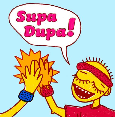 Supa Dupa! - CD cover 4