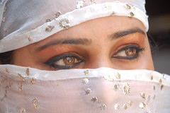 nakaab 1 (ashok monaliesa) Tags: woman india beautiful beauty eyes colours indian traditions dreams cultures parda pardah nakab ghoonghat