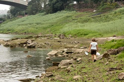 exploring river