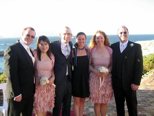 Alex, Kristen, Andy, Alex, Chrissy, Steffen.