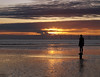 Hi and Dry (Mr Grimesdale) Tags: sunset seascape reflection beach silhouette statue liverpool olympus mersey gormley crosby antonygormley merseyside e510 anotherplace rivermersey mrgrimsdale stevewallace gormleystatue europeancapitalofculture2008 mrgrimesdale