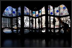 Casa Battlo' (Turin&Sea) Tags: barcelona sea colors spain barca mare espana gaudi catalunya colori casabattlo barcino barcellona spagna vetrata passeigdegracia