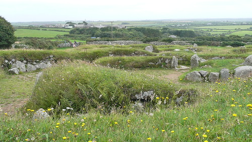 Carn Euny Ancient Settlement,Cornwall