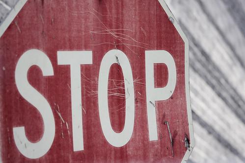 Stop [91/365]
