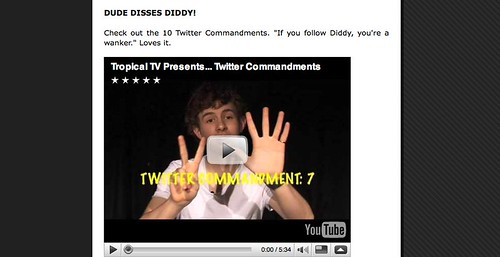 DUDE DISSES DIDDY! lulz w00t