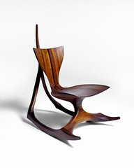 Rocking Chair by Jack Rogers Hopkins (ouno design) Tags: modern furniture 70s eccentric 50s modernist middleearth furnituredesign toddmerrellantiques