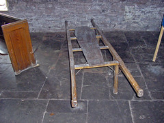 Coffin Stretcher (darkcell) Tags: wales churches grosmont