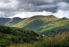 England: Cumbria, Stock Ghyll (Tim Blessed) Tags: uk sky mountains nature clouds landscapes countryside scenery lakes cumbria lakedistrictnationalpark singlerawtonemapped
