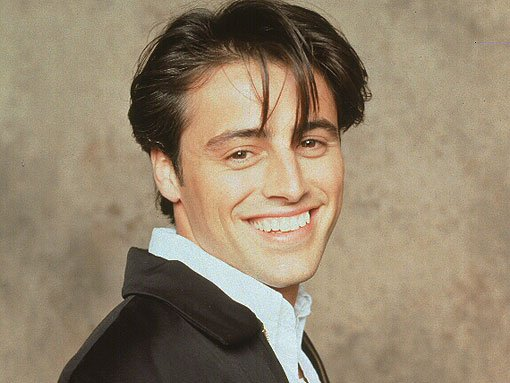 Joey from Friends smiling