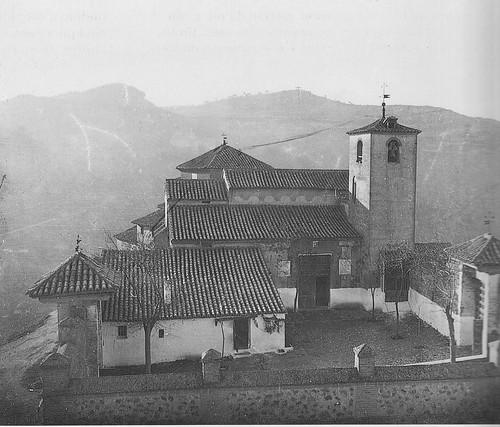 Iglesia de San Lucas a principios del siglo XX. Fotografía de D. Pedro Román Martínez