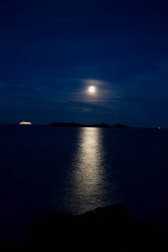 Moonlight at Redang Island