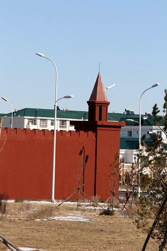 Manzhouli Kremlin Wall (by niklausberger)