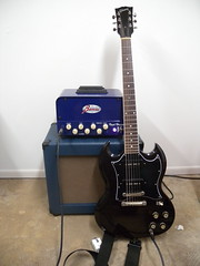 It wails!! (erick.coleman@me.com) Tags: 2002 2 classic tv cabinet anniversary royal amp speaker p sg amplifier gibson 90 70th bluesman p90 pigtail avr celestion tonepros lopo tailpiece fralin 1x12 burriss g12h30 lopoline