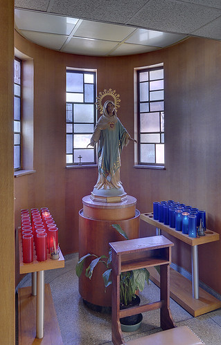 Saint Ann's Roman Catholic Church, in Normandy, Missouri, USA - shrine to the Blessed Virgin Mary
