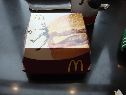 La Chronique du Crispy McBacon de McDonald's Italia