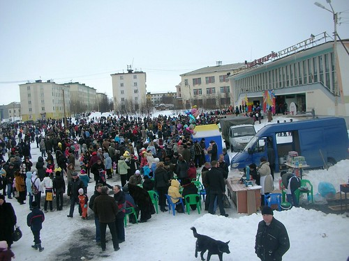 Russia Easter celebration in Zapoljarnyj #1