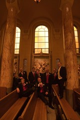 Buckman 0189 (harmonweddings.com) Tags: wedding church saint groom bride catholic veil dress bridesmaid rosary louisville groomsmen rd newburg agness
