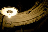 Ceiling at The Alexandria (dogwelder) Tags: california lightbulb concrete losangeles downtown decoration highcontrast ceiling lensflare zurbulon6 chiaroscuro lightfixture alexandriahotel zurbulon