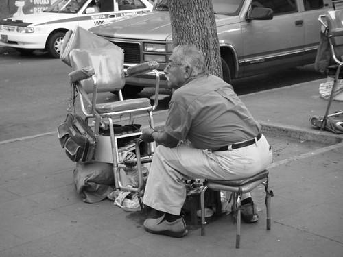 Tampico shoeshine