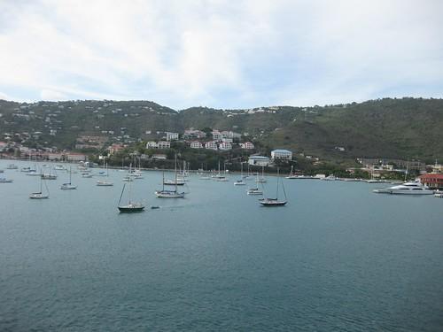 View of St. Thomas from verandah