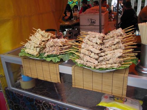 yakitori stand