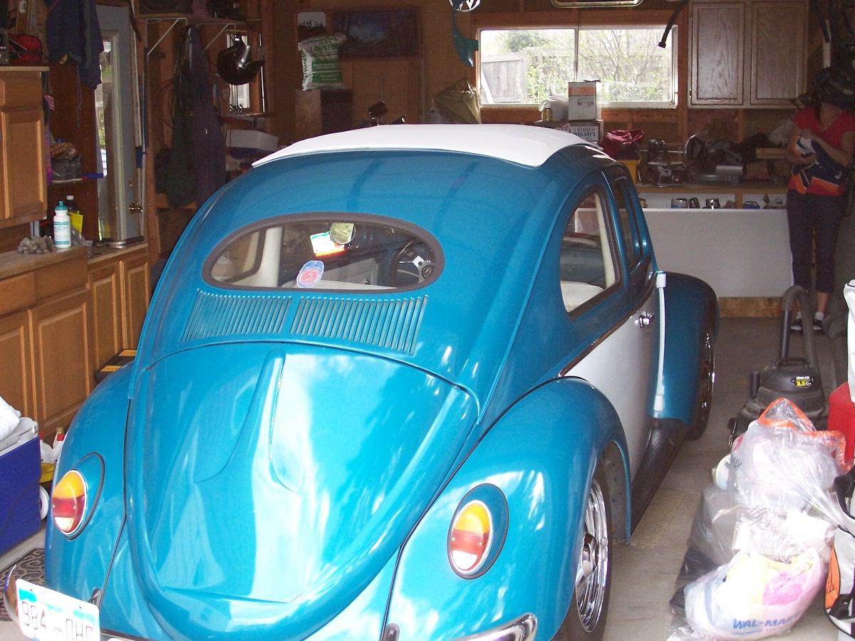 1962 VW Volkswagen Bug Ragtop Images