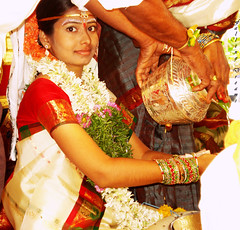Indian Bride (Falling Dreams) Tags: portrait india girl rural groom bride women flickr hand indian may marriage desi dreams indians tradition hyderabad potrait 2009 hpc   hyderabadi      fallingdreams    hamarahyderabad