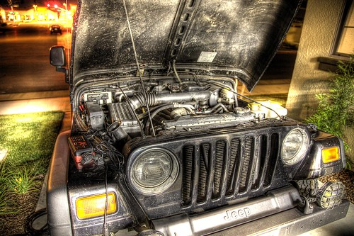 Jeep battery