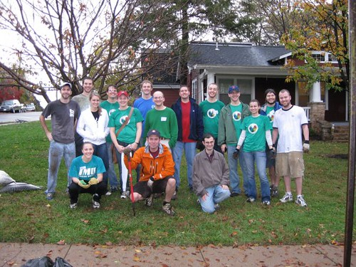 2008-11 - Community Residences clean-up 1