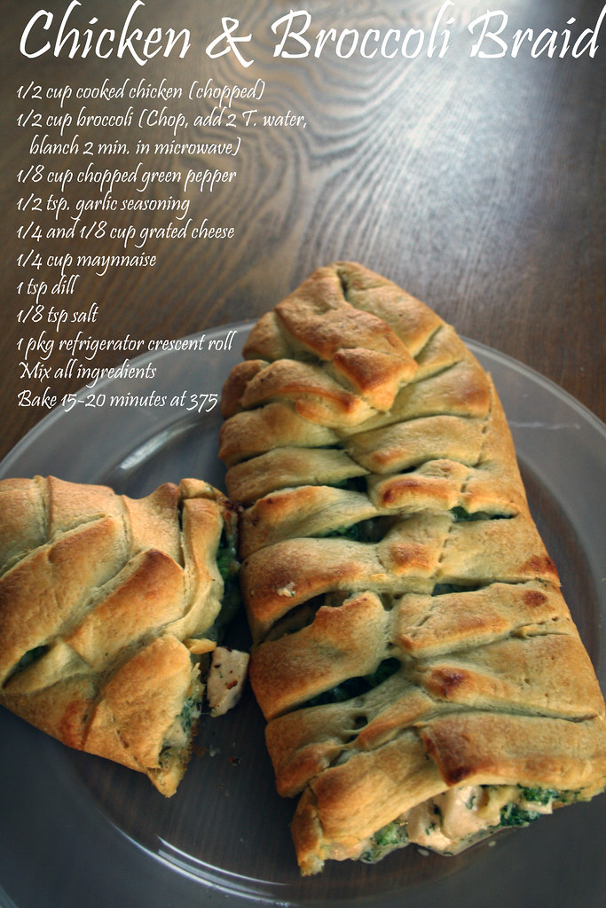 Chicken and Broccoli Braid copy