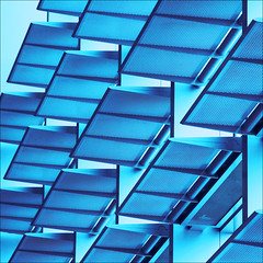 flap your wings and fly (barbera*) Tags: blue toronto architecture airport geometry shapes structure screening rhythm barbera diagonals torontoairport pearsoninternationalairport 500x500 iwanttofly anchiovogliovolare ritmod 178811 ichwillauchfliegend isthatlikerhythm