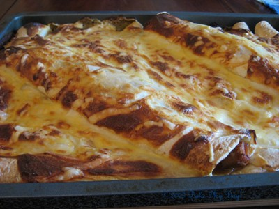pulled pork tortilla lasagna