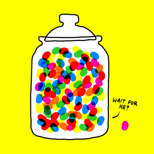 Guess How Many Jelly Beans Aren't in the Jar