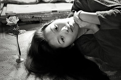 My long hair (photoxgo) Tags: bw ilford myfunnyvalentine pan100