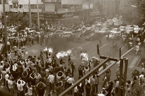 Latest: Tehran Streets Iran Irão Revolta Revolução Eleições Mousavi