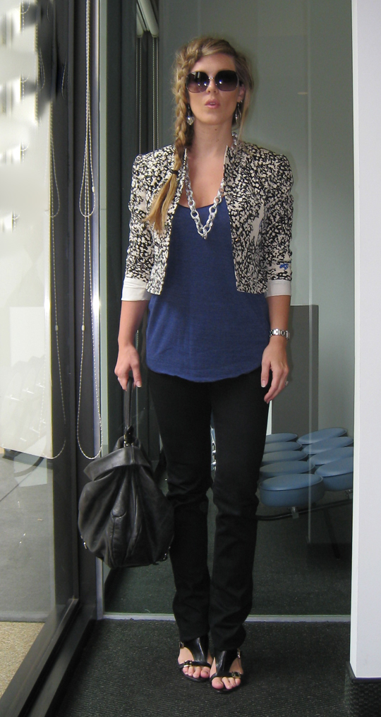 french-braid-flower-blazer-skinny-jeans-1