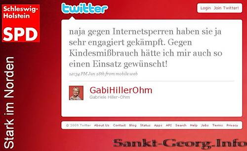 SPD: Populistisches Geschnatter einer #zensursula Anhängerin?