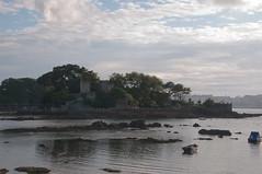 Castillo de Santa Cruz (Darkmelion) Tags: españa santacruz mar agua coruña paisaje galicia verano castillo paseomaritimo d90 burgo espaa corua