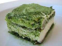 Tiramisù al tè verde matcha