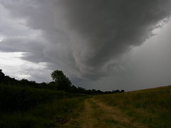 big storm brewing (mike wade (otisplodding)) Tags: sky storm weather clouds norfolk bad be there thunderstorm brewin