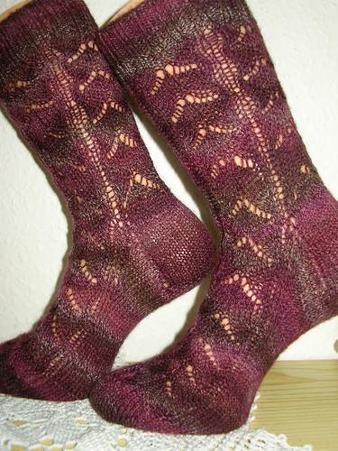 Synesthesia Socks,seitlich