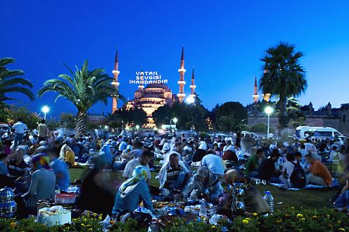 تركيا  في شهر رمضان