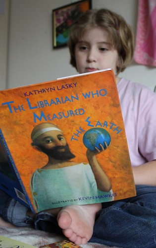 Reading The Librarian who Measured the Earth