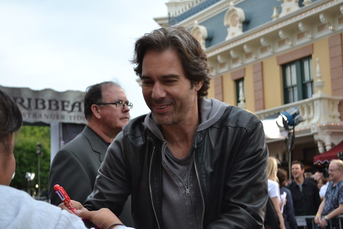 Eric McCormack on the Pirates of the Caribbean: On Stranger Tides Black Carpet